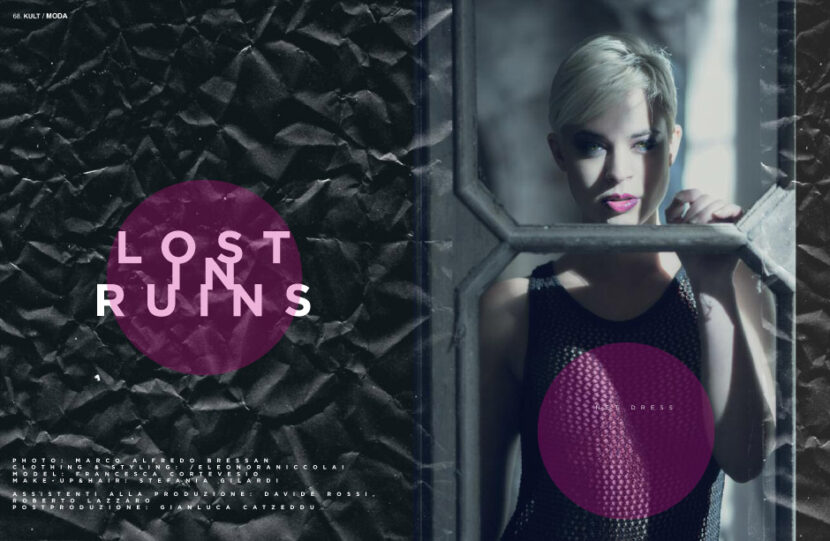 KULT MAGAZINE - LOST IN RUINS